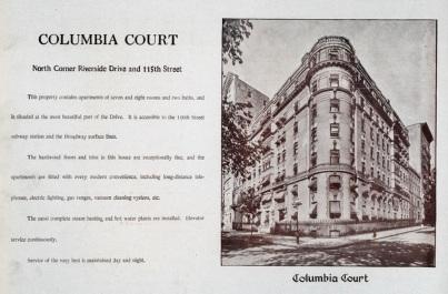 Columbia Court 1910