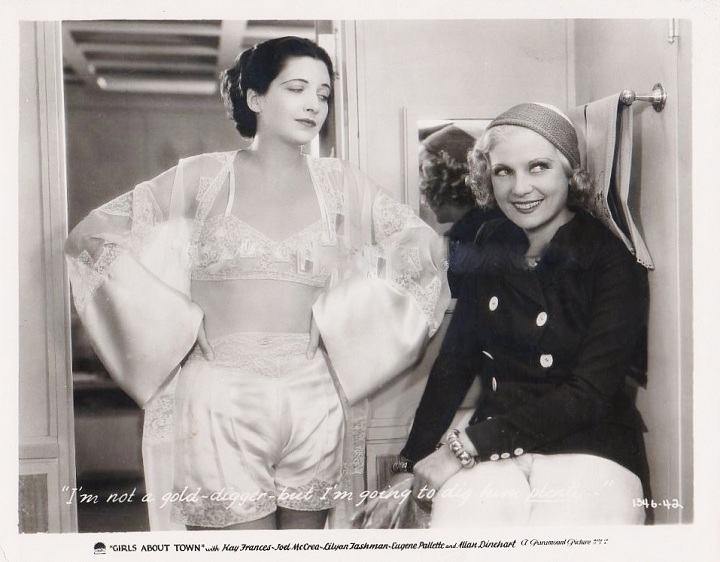 Kay Francis Lilyan Tashman Girls About Town 11 East
