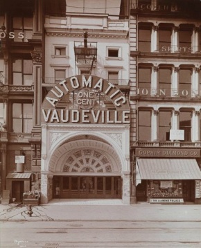 "Automatic Vaudeville"" in New York City"