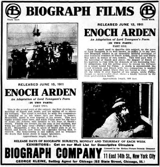 NYDM EnochArd Adv Jun 14 1911