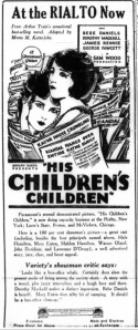 Variety Nov 15 1923 Childrns